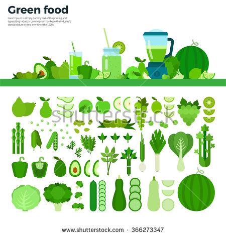 Green Food Clip Art.