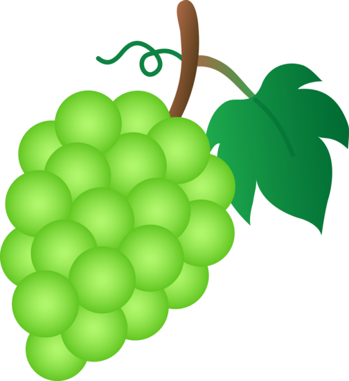 Green Fruit Clip Art.