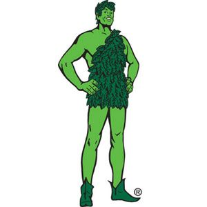 The Jolly Green Giant.