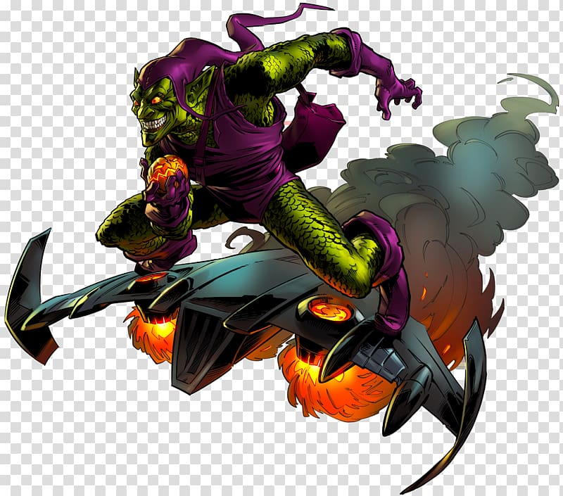 Green Goblin Spider.