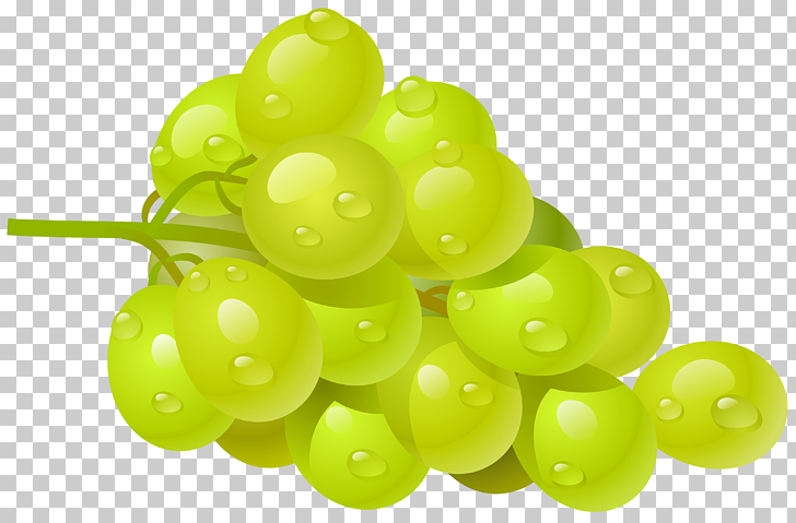 Common Grape Vine Wine , White Grape , green grapes PNG.