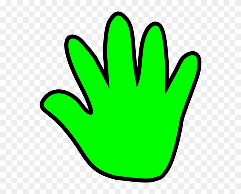 Green hand clipart 6 » Clipart Portal.