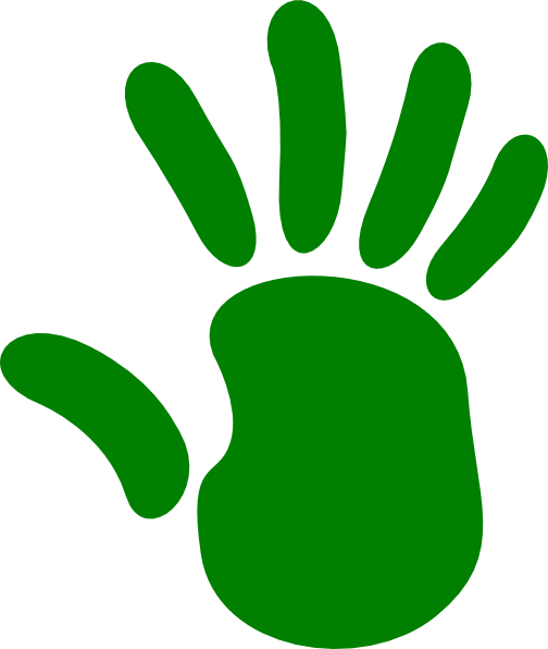 Green Hand Clip Art at Clker.com.