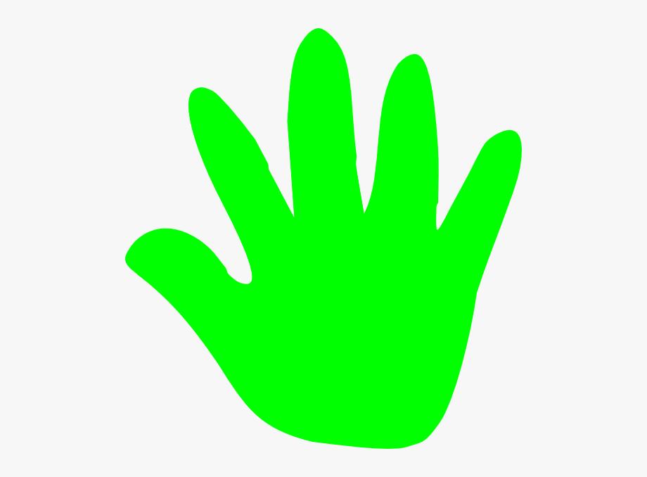 Green Hand Clipart #1793386.