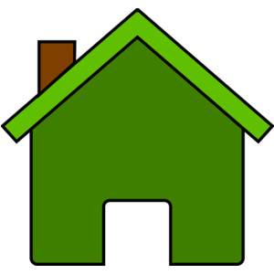 Green House Clip Art.