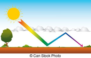 Greenhouse effect Illustrations and Clipart. 663 Greenhouse effect.