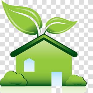 Green Building Council Environmentally friendly Green home, building.