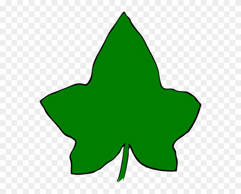 Ivy Leaf Big Green 2 Clip Art At Clker.