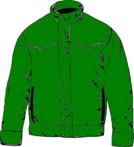 Green Jacket Clip Art at Clker.com.