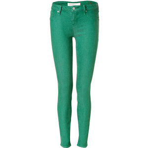 MARC BY MARC JACOBS Tourmaline Green Skinny Jeans.