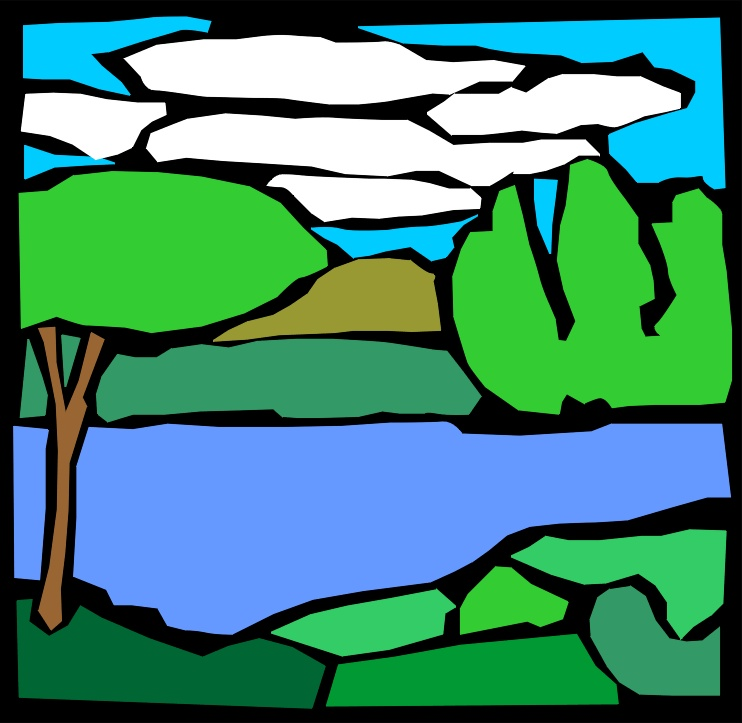 Free clipart lake images.