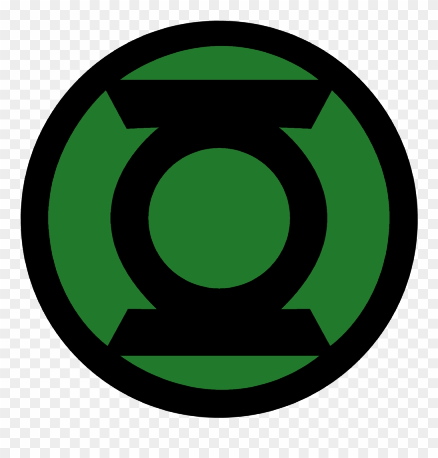 Green Lantern Corps Symbol Fill By Mr.