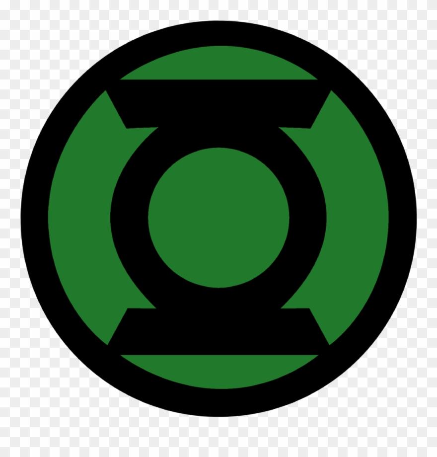 Green Lantern Corps Symbol Fill By Mr.