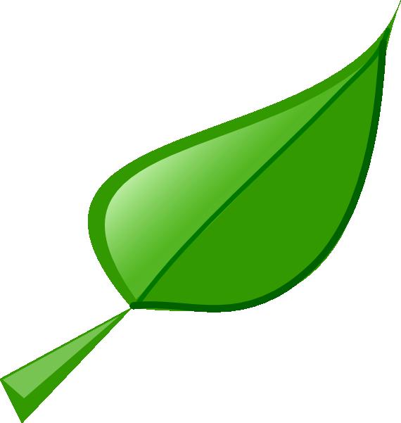 Green Leaves Border Clip Art.