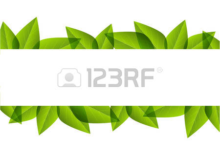33,752 Green Leaves Border Stock Illustrations, Cliparts And.