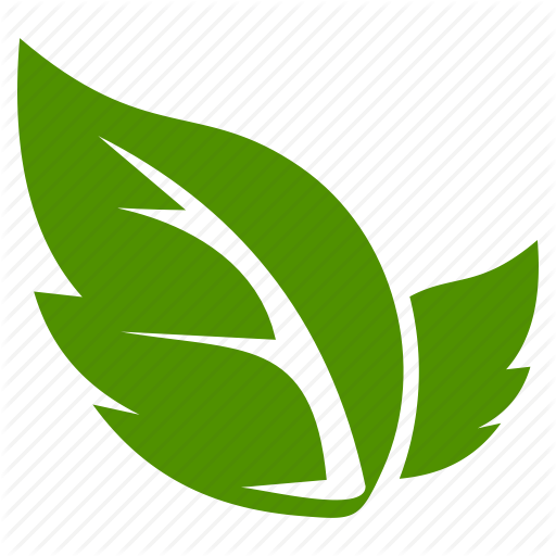 Green Leaf Icon 7.