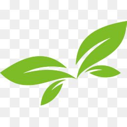 Green Leaf Vector Logo Design, Green Leaves, Green, Spring PNG and.