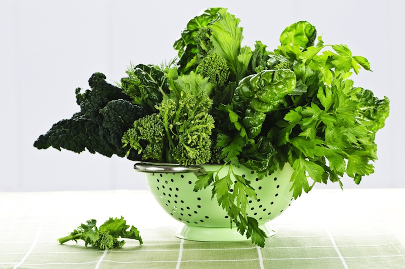 Dark Green Leafy Vegetables Are Loaded With Antioxidants.