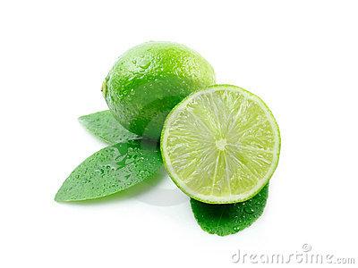Green lemons clipart.