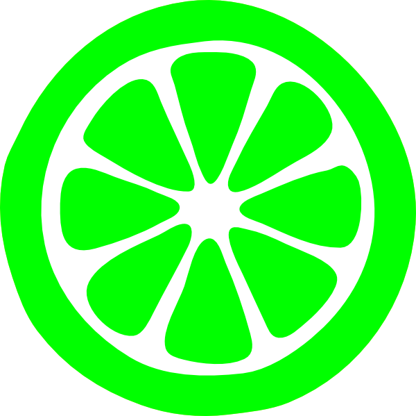 Lemon Slice ( Green ) Clip Art at Clker.com.