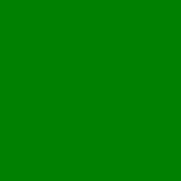 Green light bulb 2 icon.