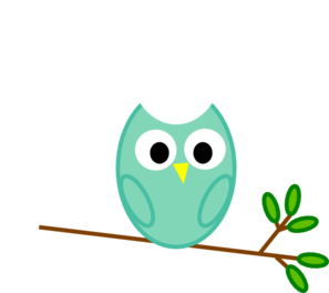 Mint Owl Clip Art at Clker.com.