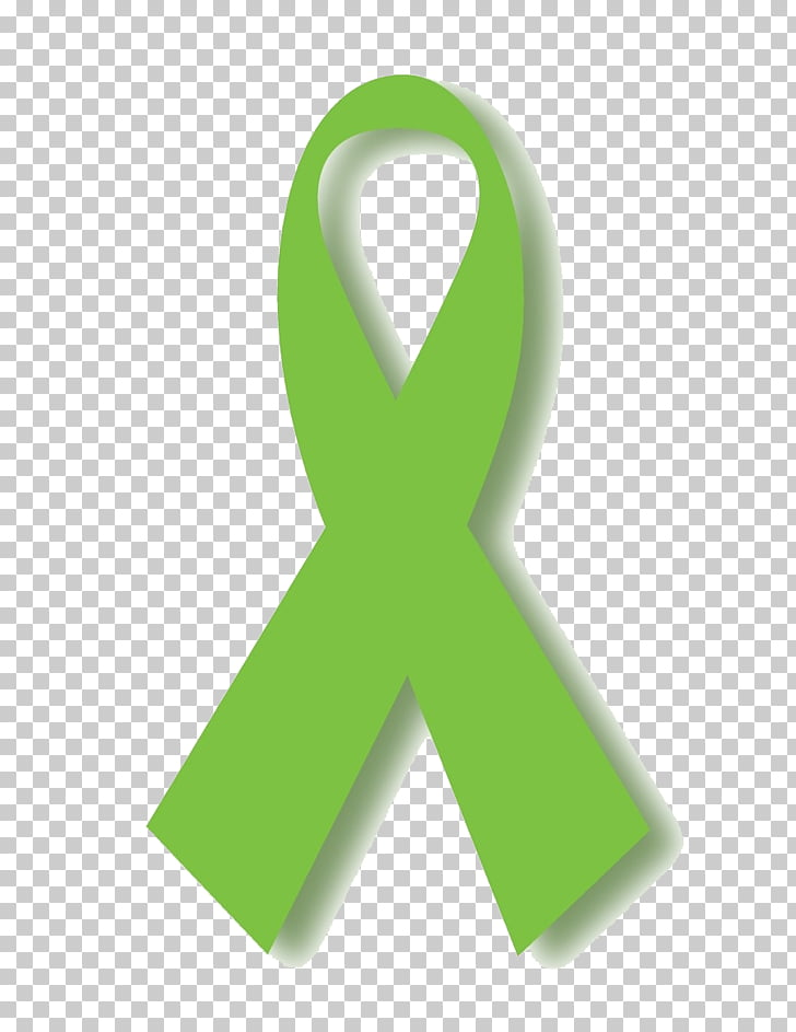 Green Cancer Awareness ribbon Pink ribbon Black ribbon.