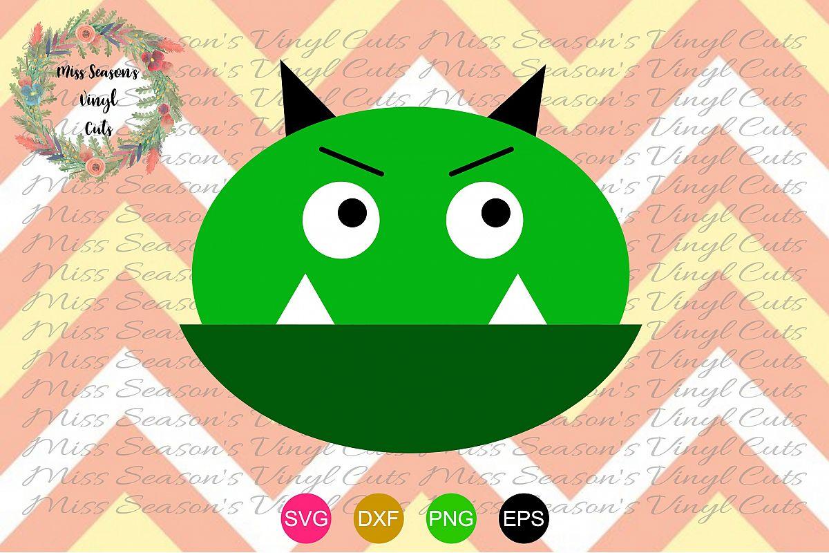 Green Monster Svg , Dxf, Eps, Png.