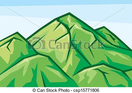 Green mountain Vector Clipart Royalty Free. 8,991 Green mountain.