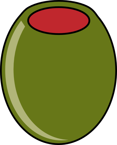Green Olive Clip Art at Clker.com.