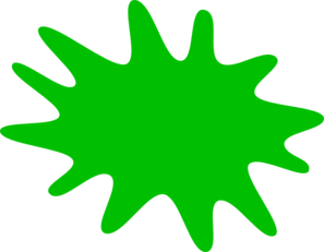 Green Paint Splat Clip Art at Clker.com.
