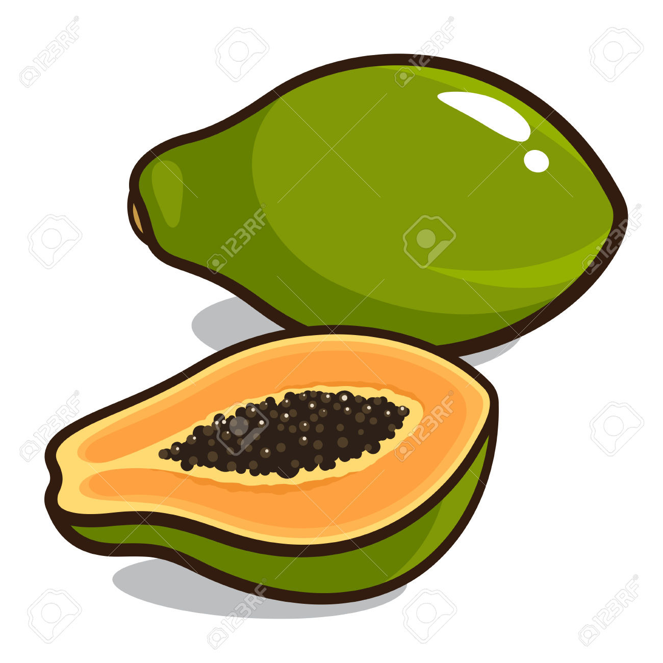 3,105 Papaya Cliparts, Stock Vector And Royalty Free Papaya.