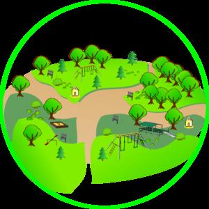 Green Park Clip Art.