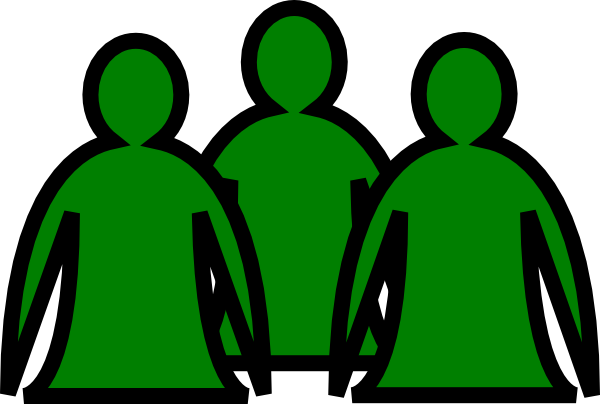 Abstract People Green Clip Art at Clker.com.