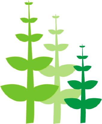 Green Plants clip art.