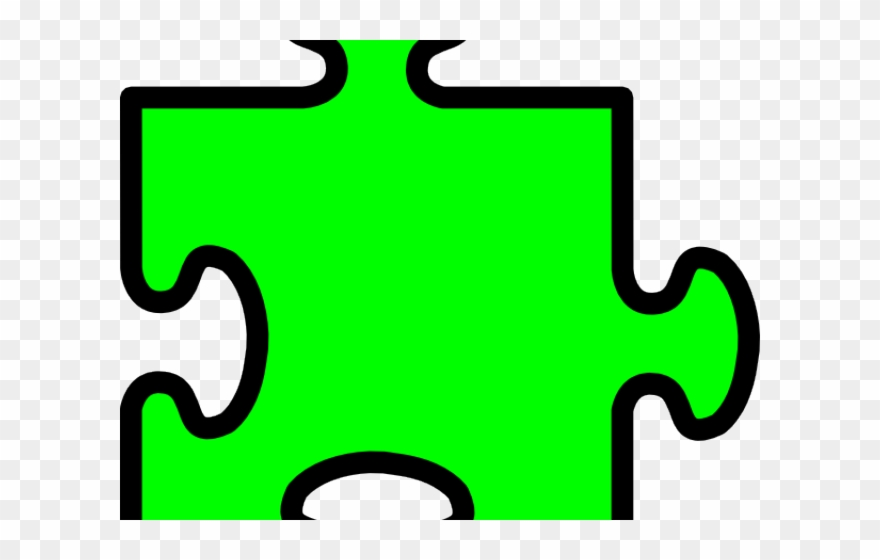 Green Clipart Puzzle.