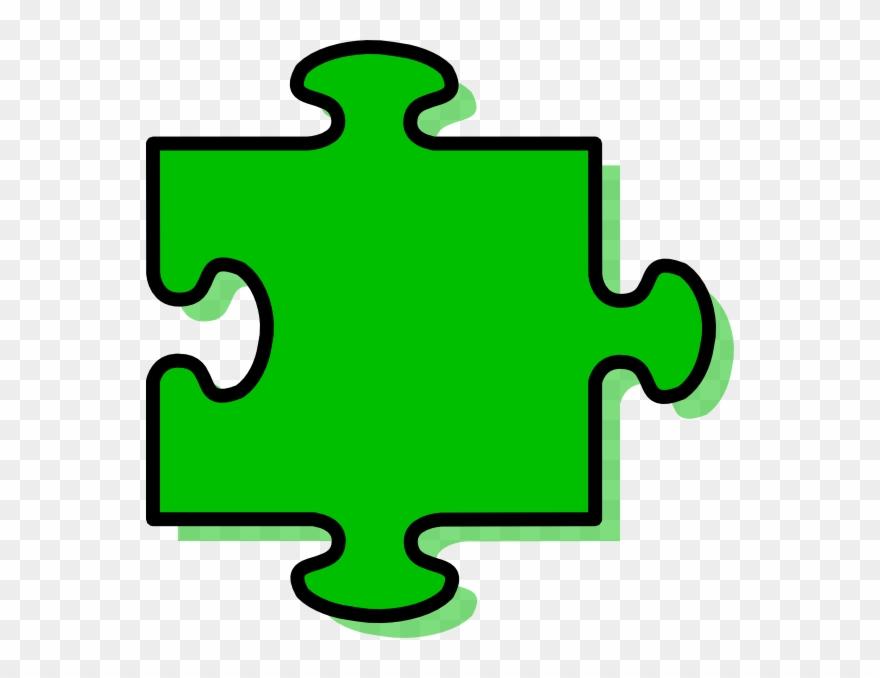 Green Puzzle Piece.