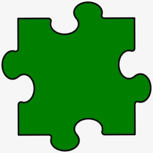 Green Puzzle Clipart Ckler And Featured Illustration.