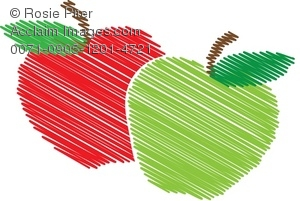 Red apple clipart clipart.