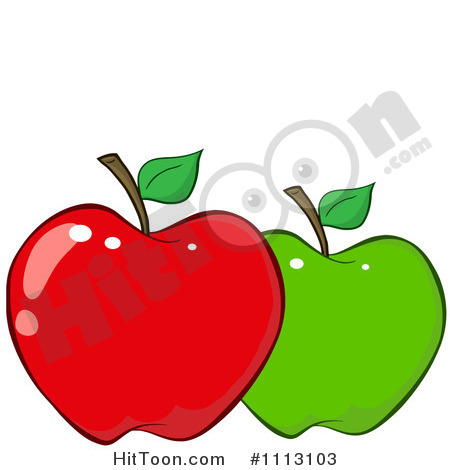 Red and green clipart.