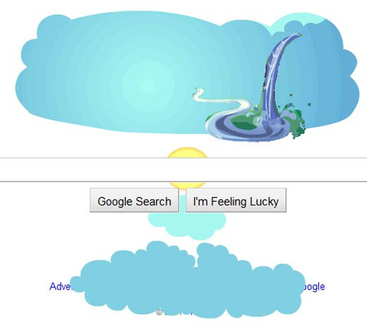 Earth Day 2011: A Google Doodle, a Billion Acts of Green theme.