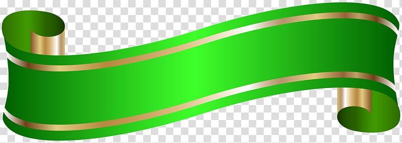 Illustration of green ribbon, Banner , Elegant Banner Green.