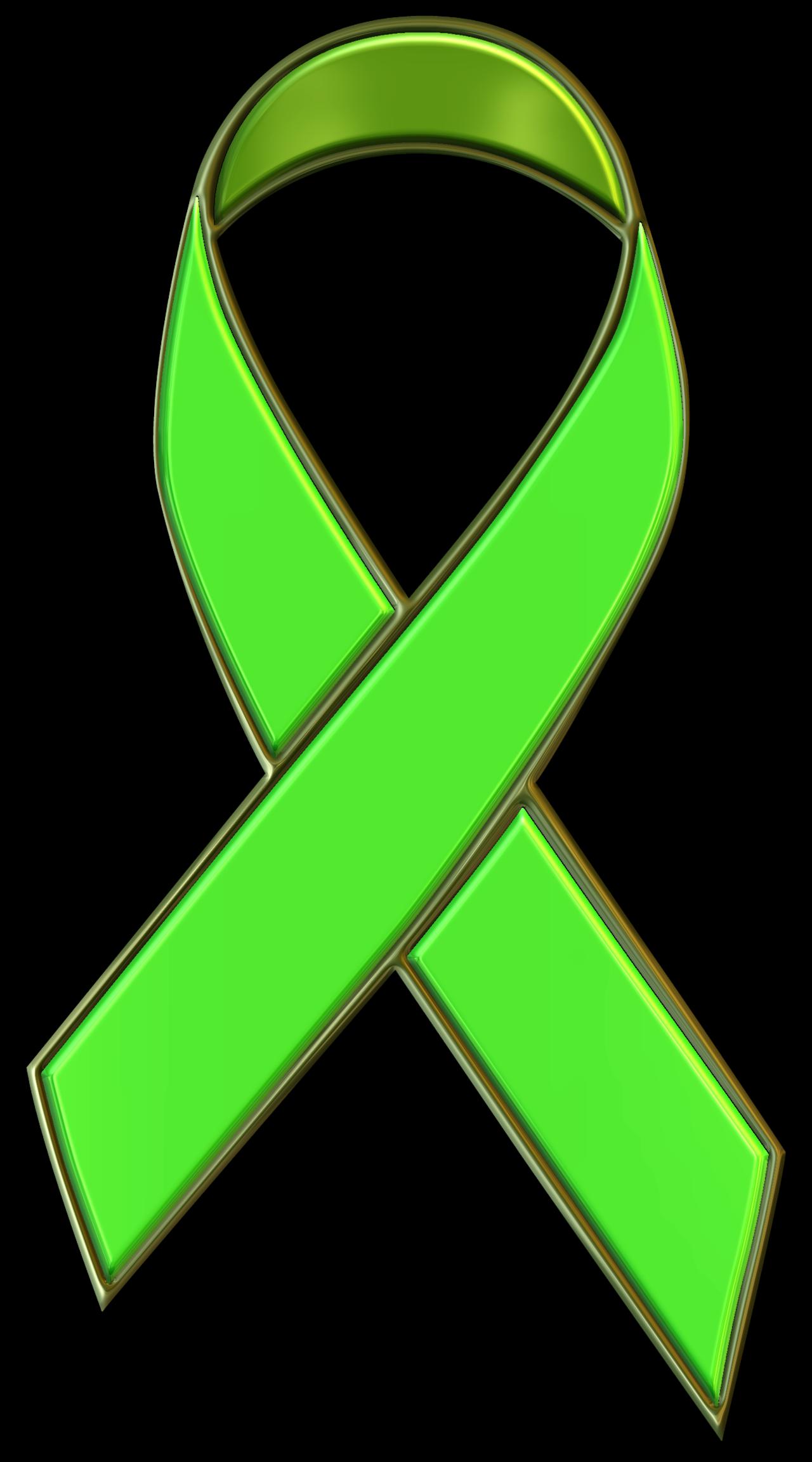Green Ribbon Clipart.