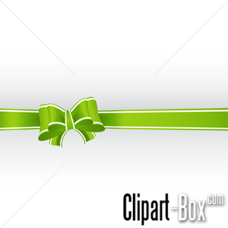 CLIPART GREEN RIBBON BACKGROUND.
