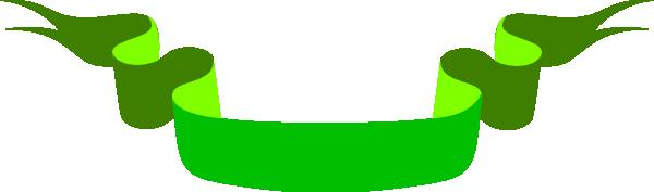 Green Ribbon Clip Art at Clker.com.