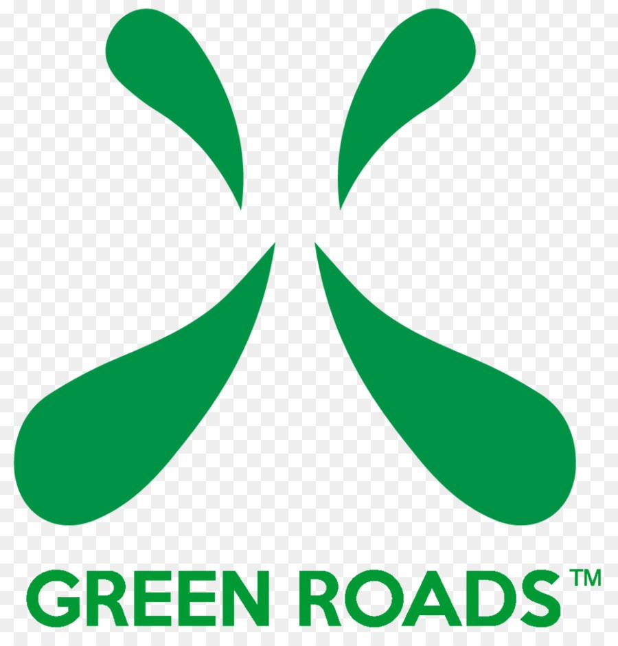Green Roads Cannabidiol Logo Clip art.
