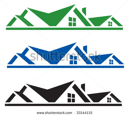 Roofer Vector Roof tops clipart - Cl...
