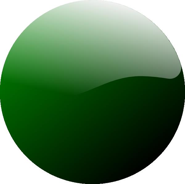 Green Round Icon clip art Free Vector / 4Vector.