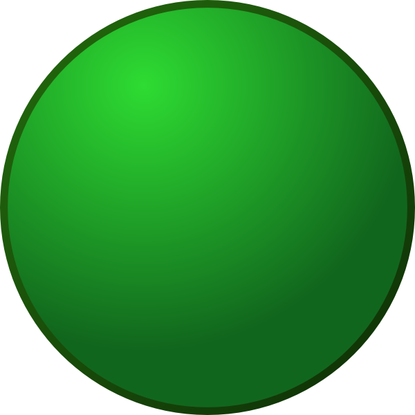 Round Green Clip Art at Clker.com.