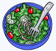 Free Salad Clipart, 1 page of Public Domain Clip Art.